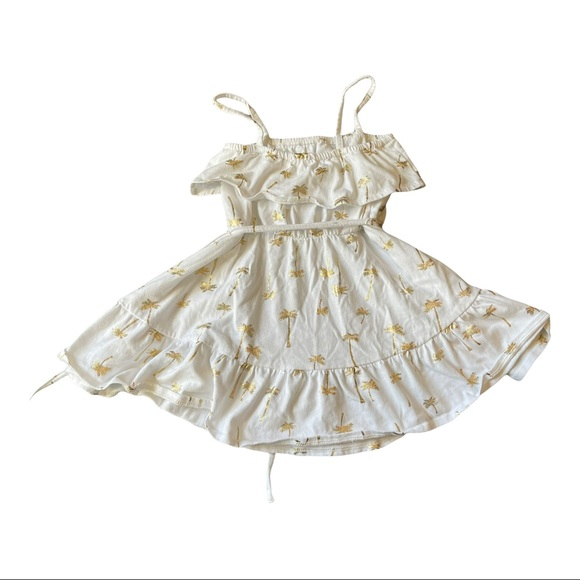 The Childrens Place Girls Dress Size 3T White